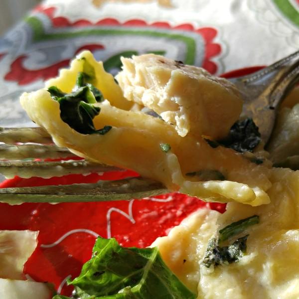 #MangiaTonight #cbias Bertolli Fork CloseUp Bite
