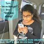 #DataAndAMovie Walmart Family Mobile Plus Mobile Phone