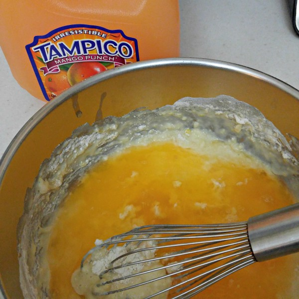 Tampico Mango Punch In Crepe Batter #LoveTampico