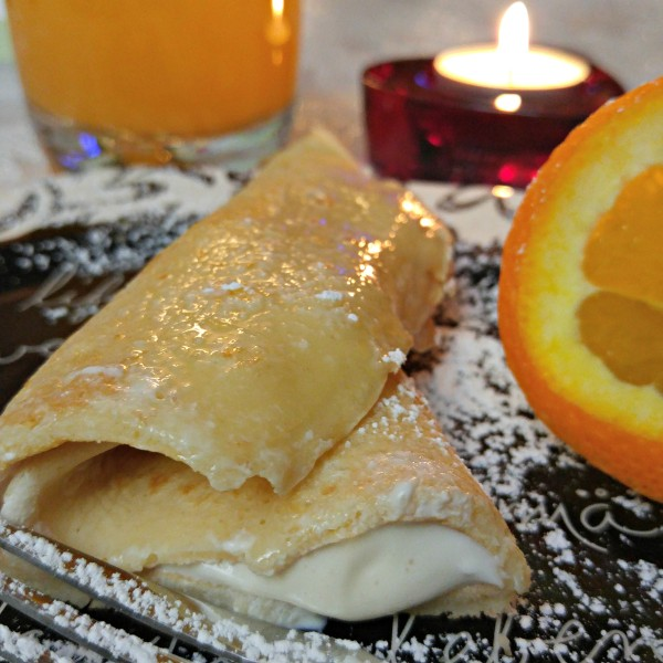 Tampico Orange Blossom Crepes Close Up Bite #LoveTampico