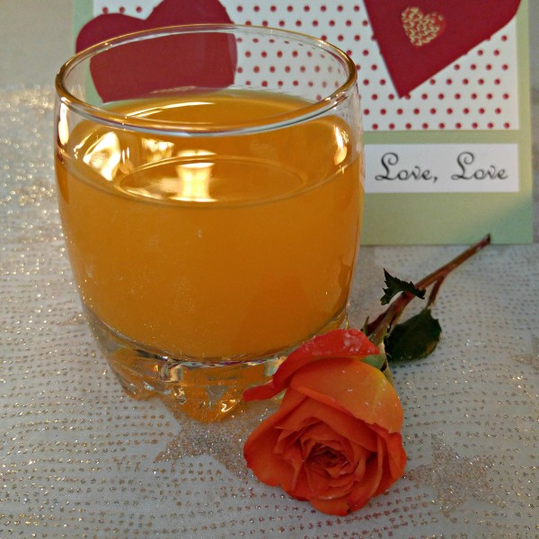 Tampico Orange Blossom Crepes Mango Punch Glass #LoveTampico