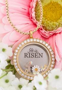 Easter Origami Owl Locket