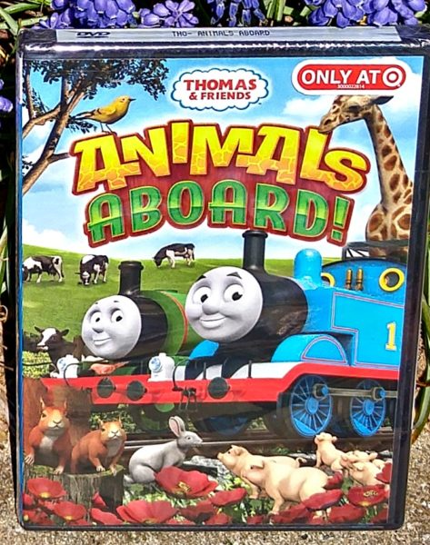 Thomas Animals Aboard DVD Front