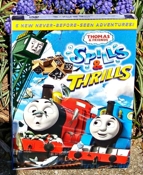 Thomas and Friends Spills and Thrills DVD front