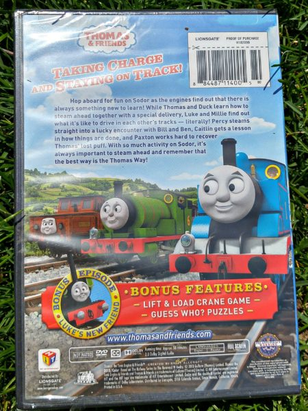 Thomas and Friends The Thomas Way DVD back