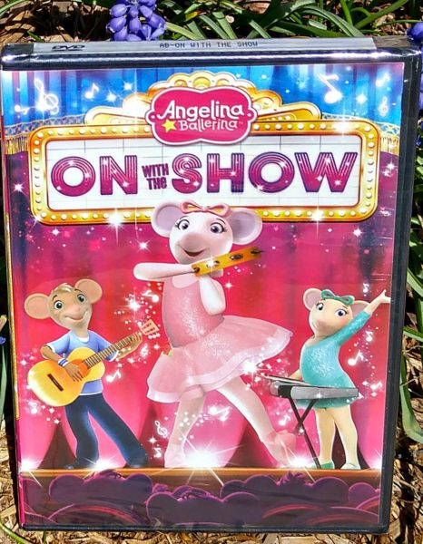angelina ballerina on with the show dvd front