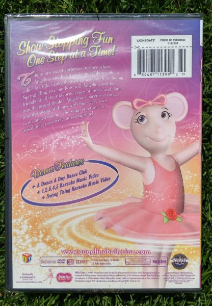 angelina ballerina twirling tales back