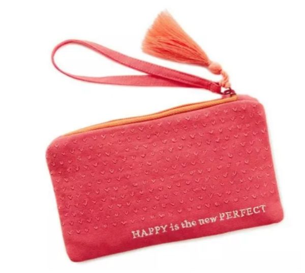 Happy is the New Perfect Wristlet
