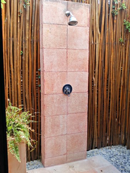 Spa - Outdoor Shower