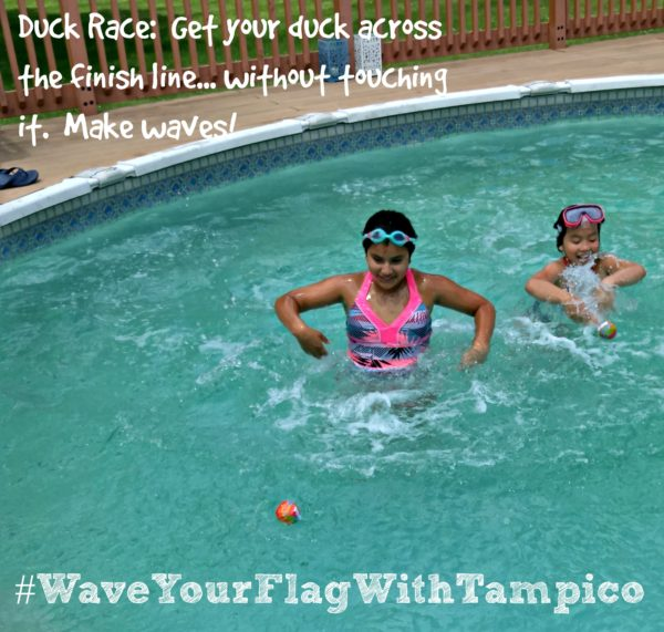 #WaveYourFlagWithTampico-Duck-Race-Tampico-July