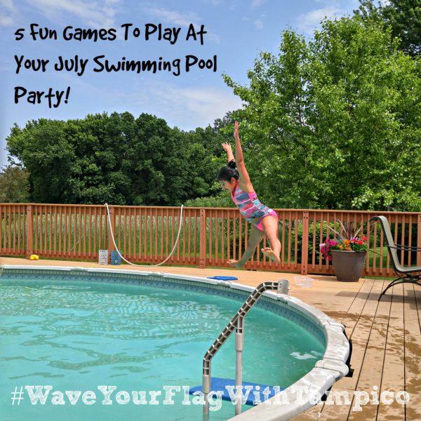 #WaveYourFlagWithTampico-pool-games-Tampico-July