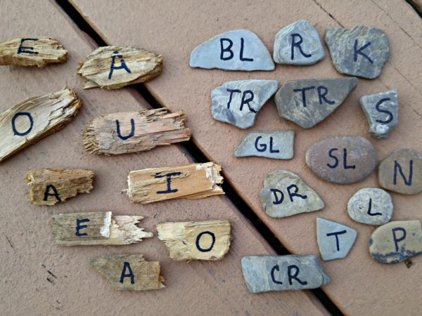 Outdoor Learning Activities Word Game