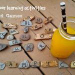 Outdoor Learning Activities Word Games #SchoolisCoolwithTampico