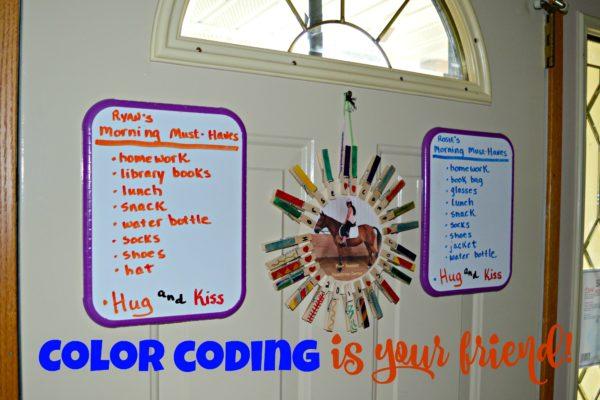 Color Coding #PackSnacksTheyLove #cbias