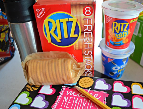 Ritz Fresh Stacks Back to School #PackSnacksTheyLove #cbias