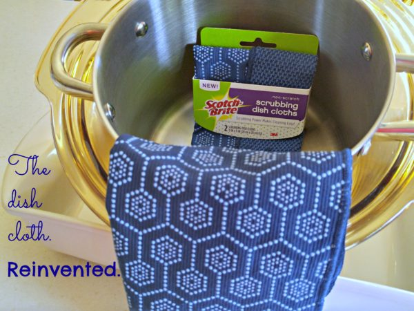 #ScrubbingPower Scotch-Brite Scrubbing Dish Cloths Reinvented