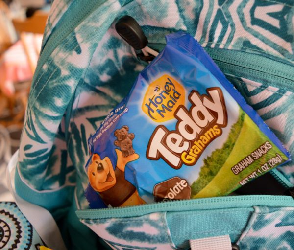 Teddy Grahams Make Back to School Easy #PackSnacksTheyLove #cbias