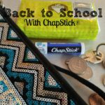 Back to School with Chapstick in Purse