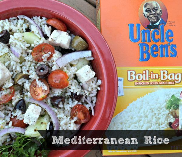 Mediterranean Rice Recipe #BensBeginners #UncleBensPromo